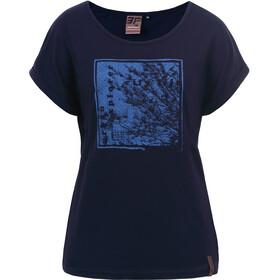 Icepeak Ep Antwerp T-Shirt Femme, dark blue